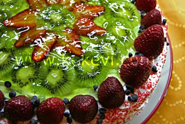 Jöleli Meyveli Pasta