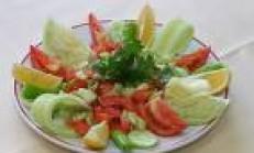 Limonlu Mevsim Salata