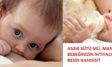 Soru Cevaplandı: Anne Sütü Mü, Mama Mı?