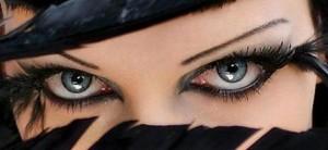 göz kalemi makyajı