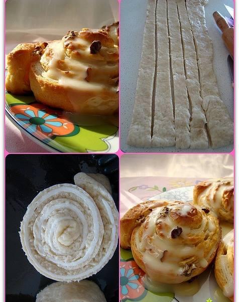 Milföylü Mayalı Çörek Tarifi
