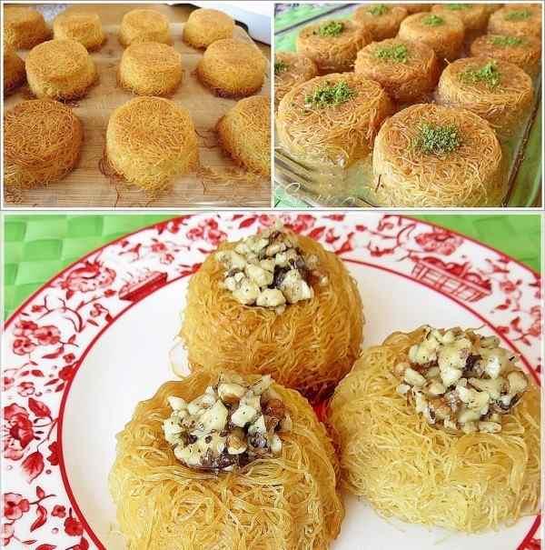 Muffin Kalıbında Tel Kadayıf nasıl yapılır