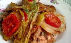 Fırında Tavuklu Yaz Yemeği