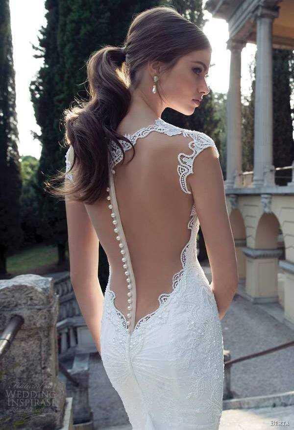 sırtı tül detaylı şık beyaz gece elbisesi