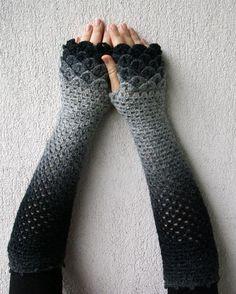 füme gri eldiven modeli