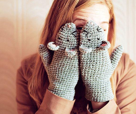 fare figürlü eldiven modeli