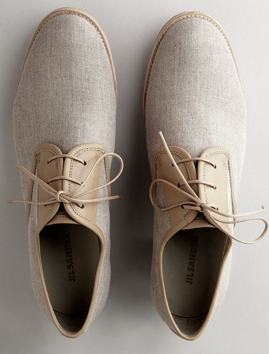 gri kumaş erkek ayakkabı modeli