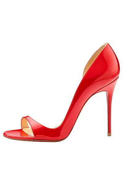 kırmızı rugan ayakkabı modeli