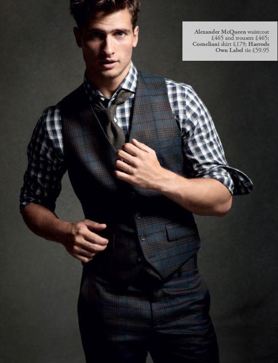 laci karele erkek yelek modeli