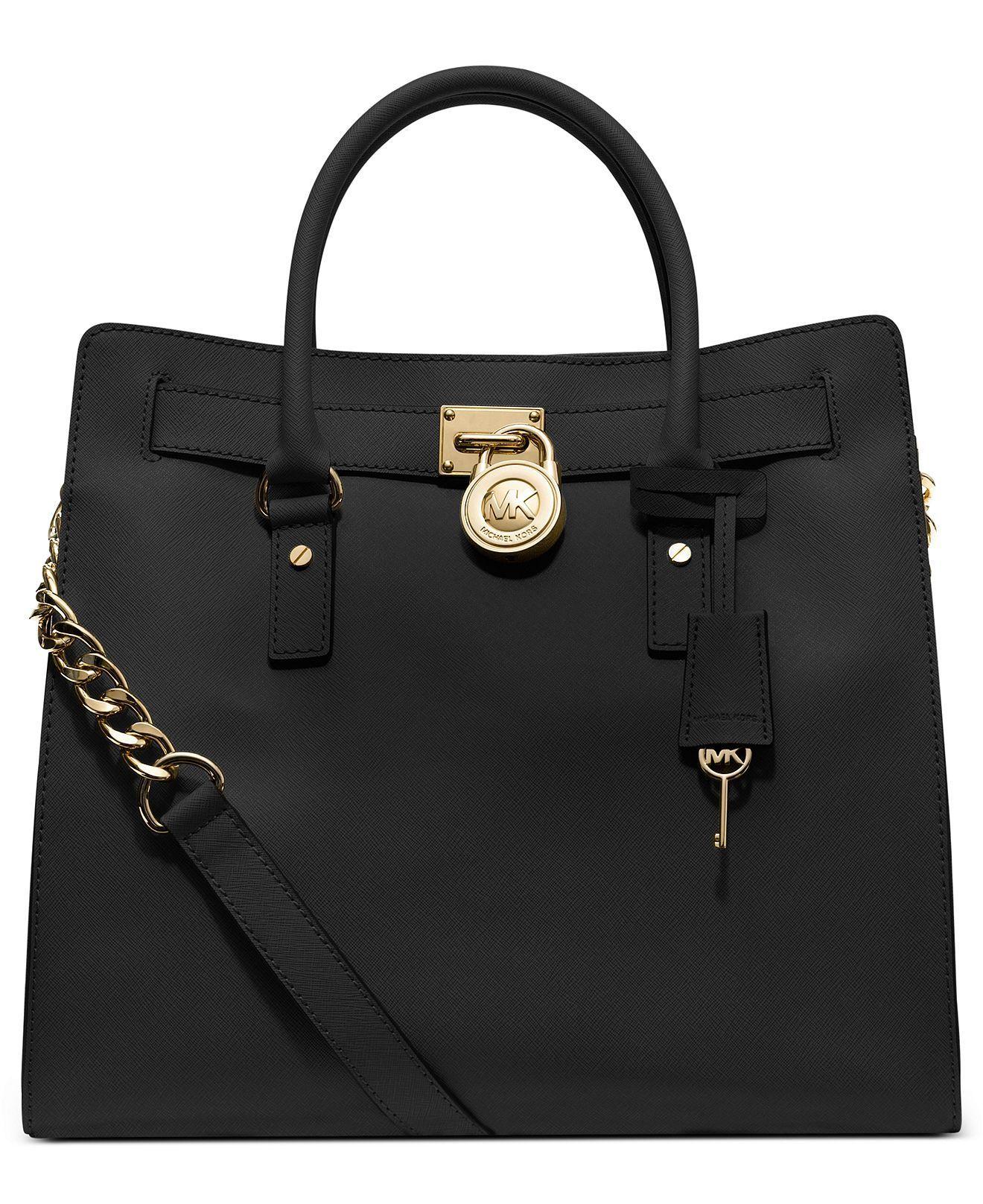 michael kors mat siyah çanta modeli