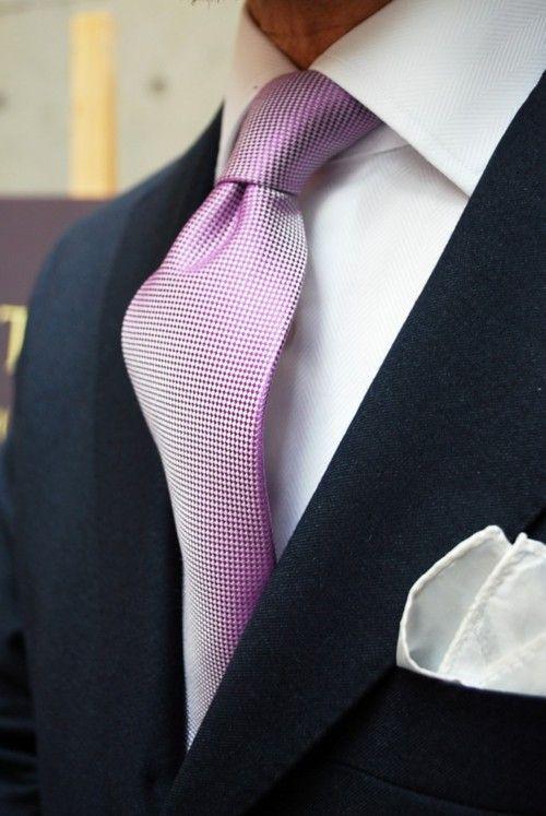 pembe sedefli kravat modeli