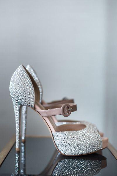 pudra ve lame rengi ayakkabı modeli