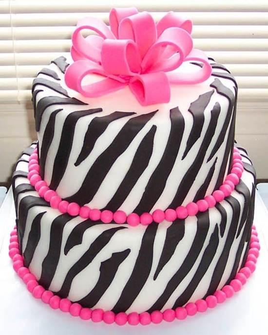 iki katlı zebra pasta