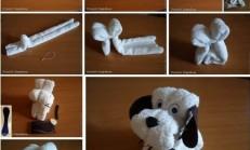 Şirin Havlu Köpek