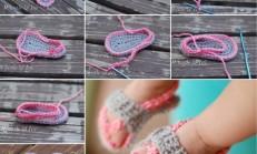 Parmak Arası Bebek Sandalet