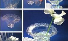 Plastik Şişeden Şık Vazo Yapımı