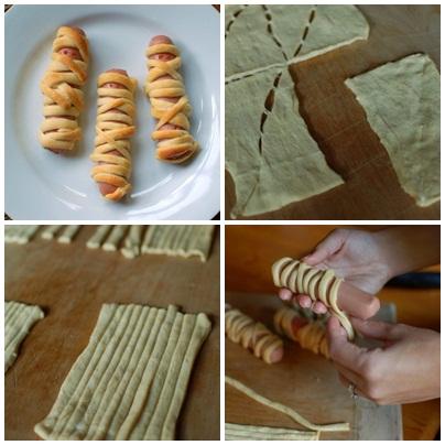 Sosisli Mumya Sandviçler
