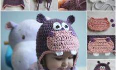 Kulaklı Bebek Şapkası Örelim