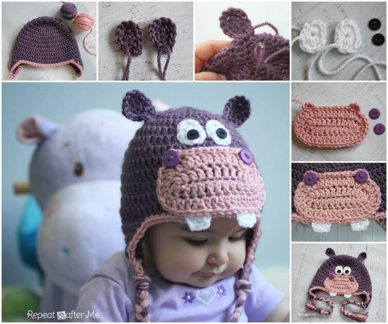 kulaklı  bebek şapkası