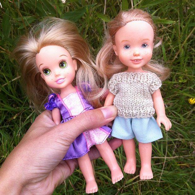 Barbie Bebeklere Daha Sade Bir Güzellik Kazandırıyor
