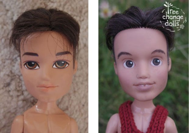 Erkek Barbie Bebekler de Değişimin Bir Parçası