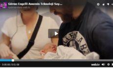 Görme Engelli Annenin Teknoloji Sayesinde Özel Bir Gözlük Sayesinde Bebeğini İlk Defa Görmesi