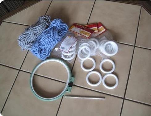 Çanta için gerekli malzemeler