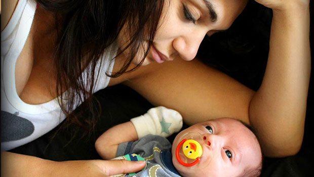 Bianca Fazey bebeğinin babasını buldu
