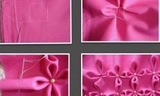 Dekoratif Büzgü Çiçekli Kırlent – Videolu Anlatım