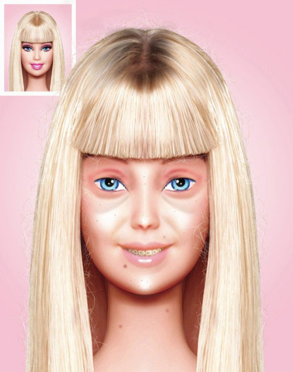 Normal Barbie Bebekler