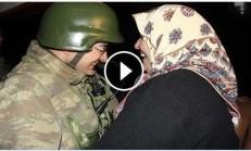 6 Aydır Annesini Görmeyen Mehmetçiğe Nöbet Esnasında Anne Sürprizi