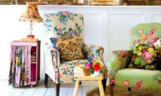 Ev Dekorasyonunda Baharın Müjdecisi Çiçek Desenleri Modası