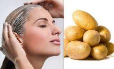 Beyaz Saç Sorununa Patatesle Kesin Doğal Çözüm