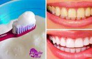 Her Evde Bulunan 2 Malzeme ile 2 Dakikada Bembeyaz Dişlere Kavuşun