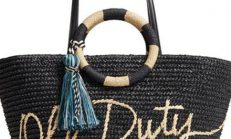 Kadınların Yeni Trendi, Hasır Çantalar