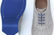 gri hasır örgü erkek ayakkabı modeli