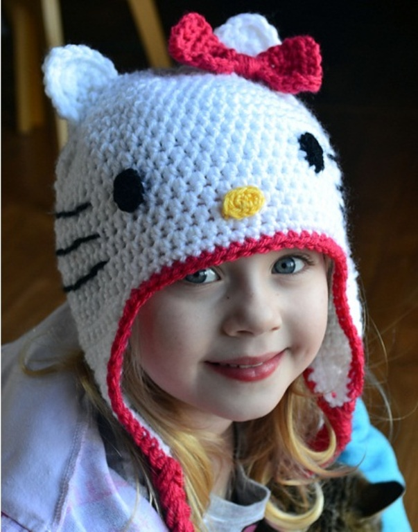 Вязание шапки детское видео