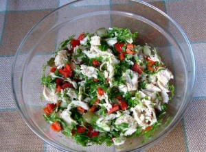 tavuklu-salata